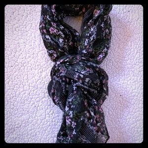American Eagle Floral Scarf